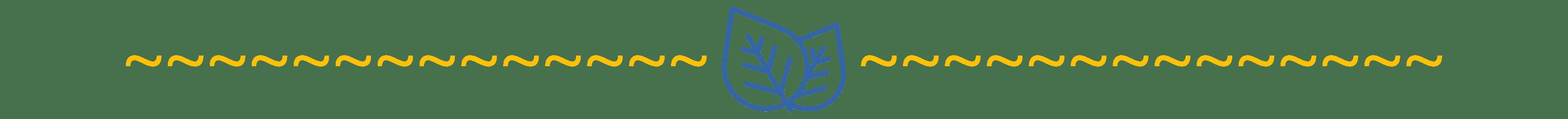 Séparateur avec un pictogramme de feuilles I Ô Pays des Sens